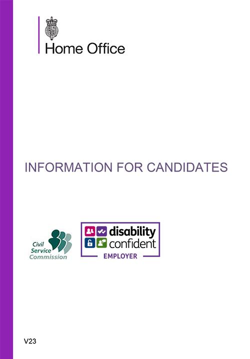 Information for Candidates