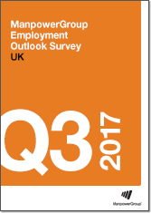ManpowerGroup Employment Outlook Survey - Q3 2017