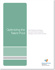Optimising the Talent Pool