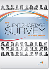 2013 Talent Shortage Survey